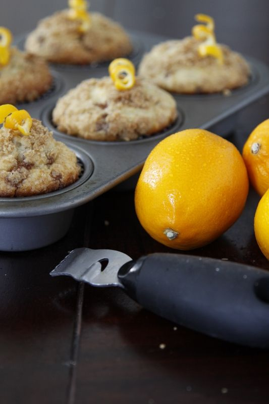 Meyer lemon coffee cake muffins- what to bake if I ever finish/start ...