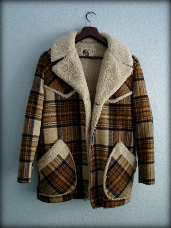 Navy Shearling Nina Coat | overcoat | Pinterest