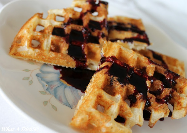 Maple Blueberry Syrup | Breakfast & Brunch Food | Pinterest