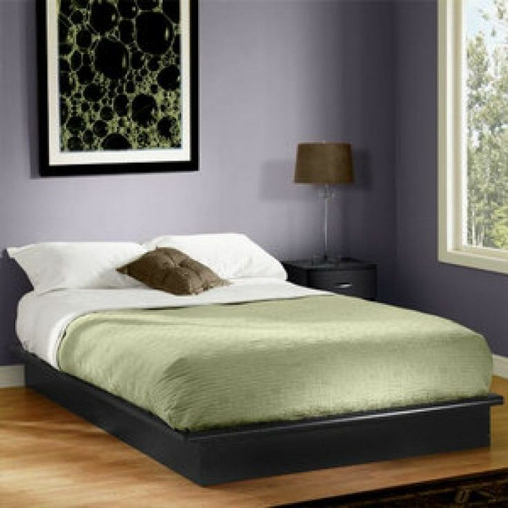 Best Queen Size Platform Bed Frame No Box Spring Needed Use W 400 x 300