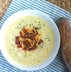 Operation: Lunch Box: Day 21 - Yukon Gold Potato Soup
