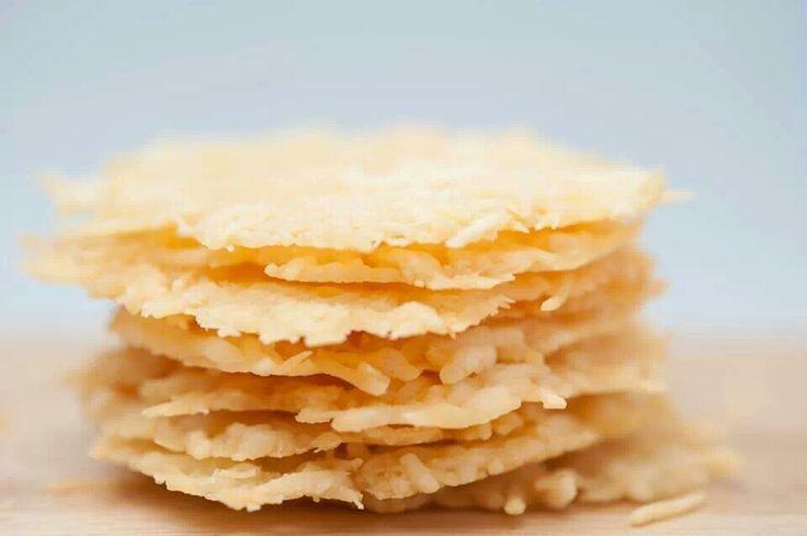 Parmesan Crisps | Food | Pinterest