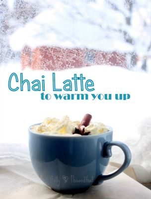 Chai Latte via @foodfriendsfri #saygdayparty
