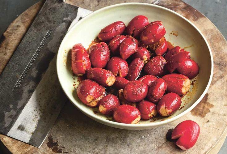 Radishes in Chile Oil Sauce. I discovered sauteed radishes via Sheila ...