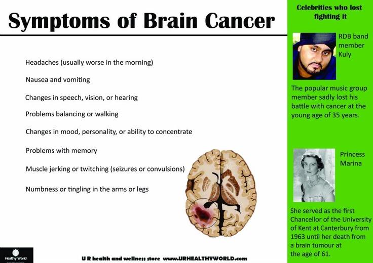 tumor symptoms pediatric brain tumor symptoms