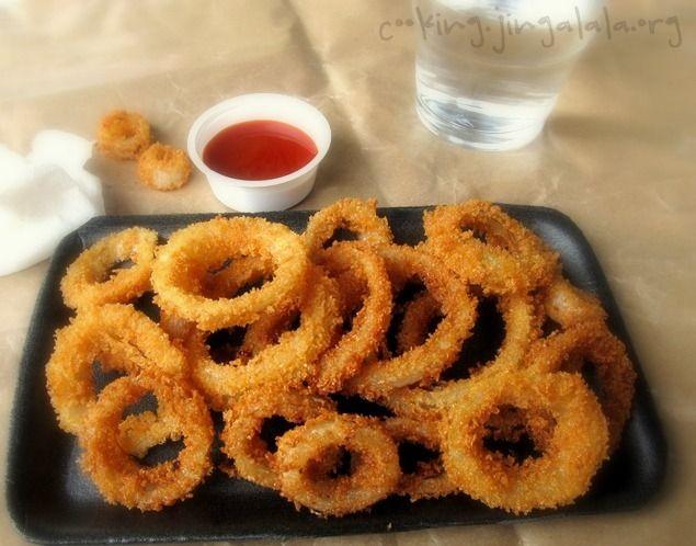 Onion Rings | Crispy Onion Rings Recipe | Crunchy Onion Rings