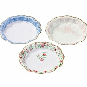 vintage style paper plates Shabby cottage chic plates dishes many,  vintage dishes fit into this style beautifully and allow you to make the look your own next.