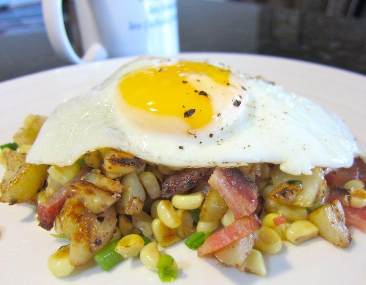 Corn & Bacon Hash « Eat Love Repeat   breakfast   Pinterest