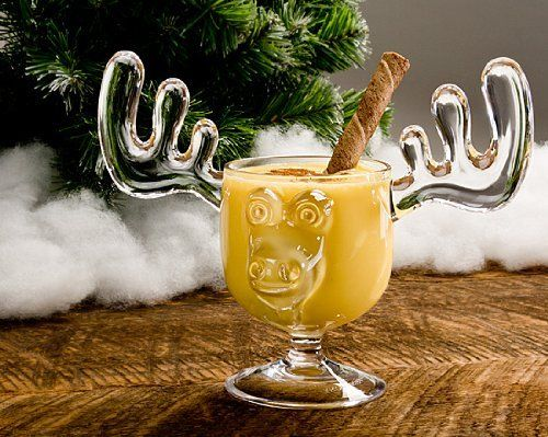 Christmas Eggnog Moose Mugs | un roi au milieu des rennes... | Pinter ...