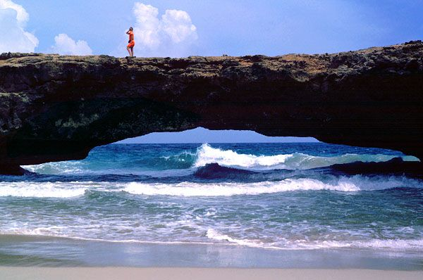 Aruba (the Natural Bridge)