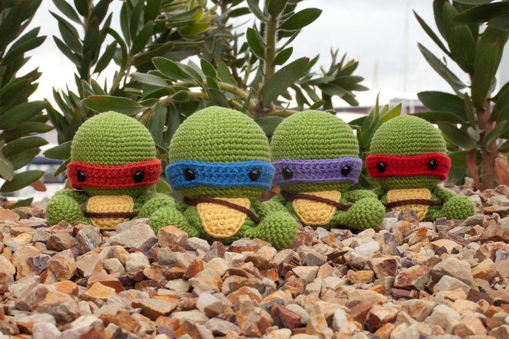 Teenage Mutant Ninja Turtles #amigurumi Amigurumi ...