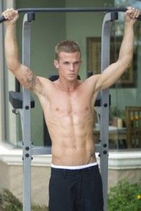 how to get abs fast for male