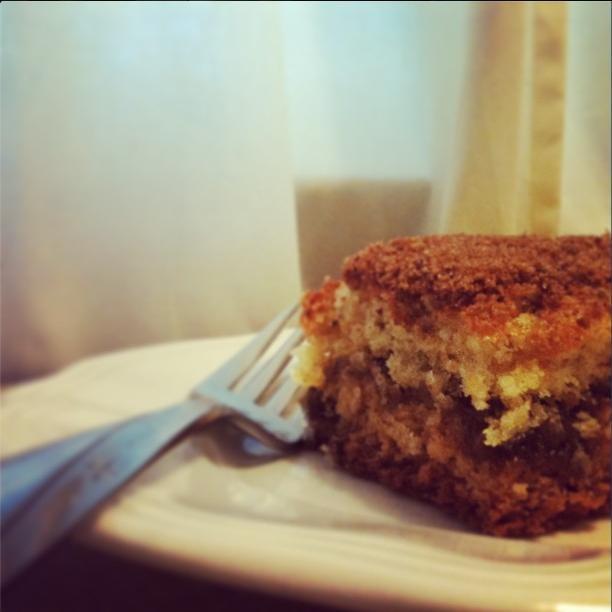 kay.em.kay: Chia Seed Coffee Cake (eggless coffee cake) | Meals to ...