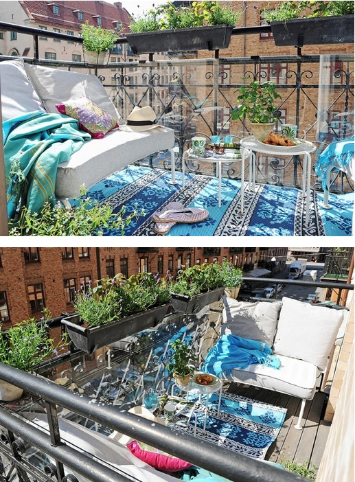 Nice Balcony Places Spaces Pinterest