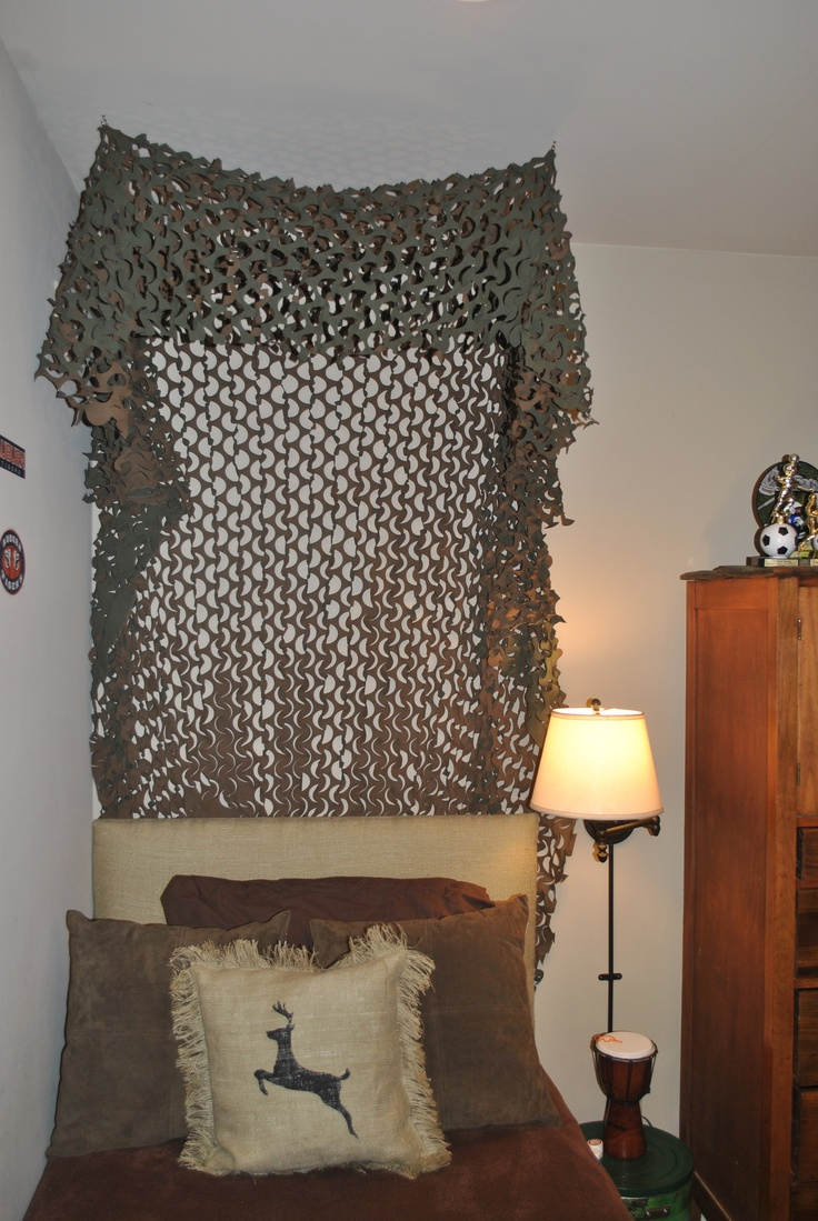 Camoflage curtains