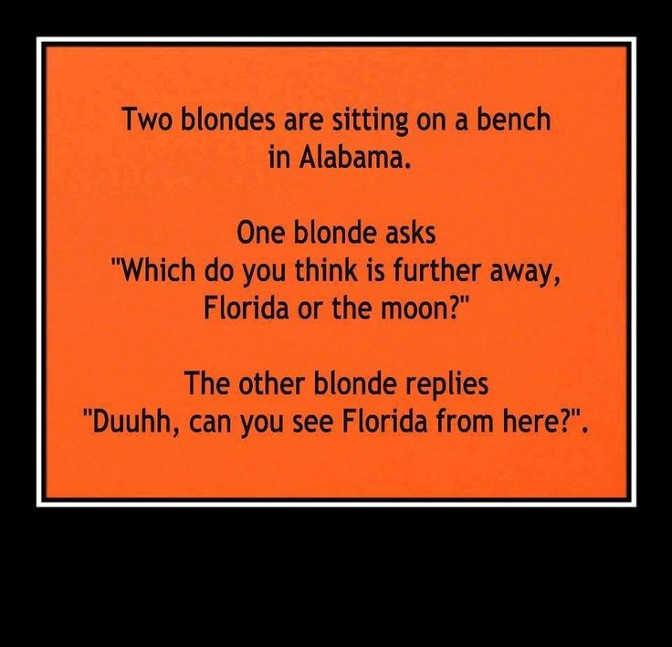 Good clean blonde jokes