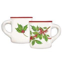 Holly Branch Mug, Mary Lake Thompson