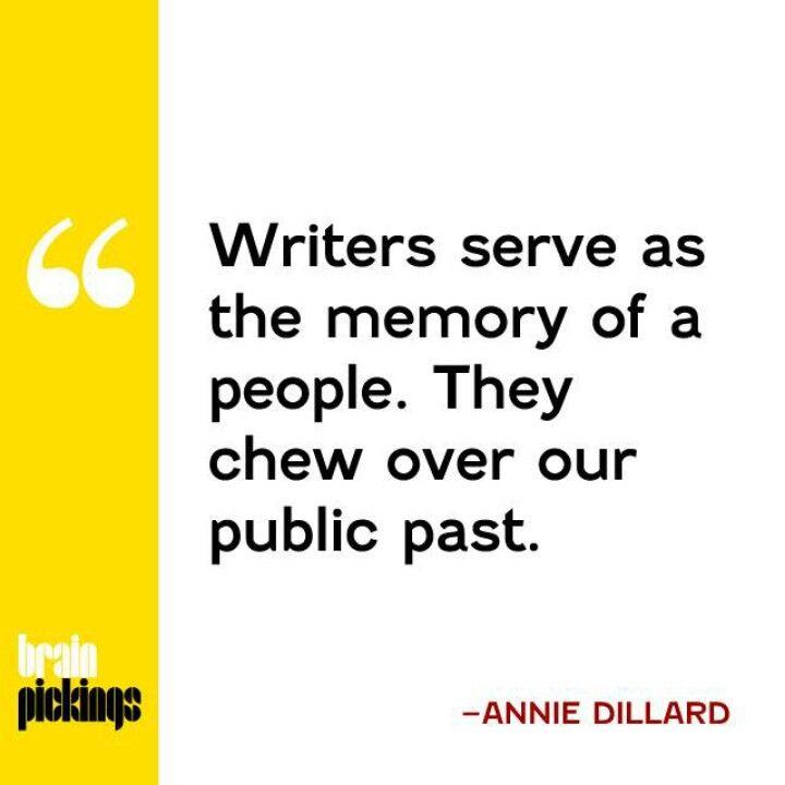Annie dillard essay