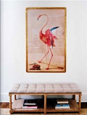 Home Decorating on Flamingo Print   Home  Decor