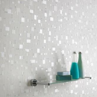Graham and Brown Contour Spa Pastel Wallpaper - Spa Pastel Pattern