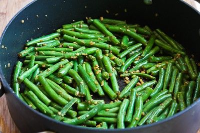 Recipe for Spicy Sichuan Style Green Beans [from Kalyn's Kitchen]