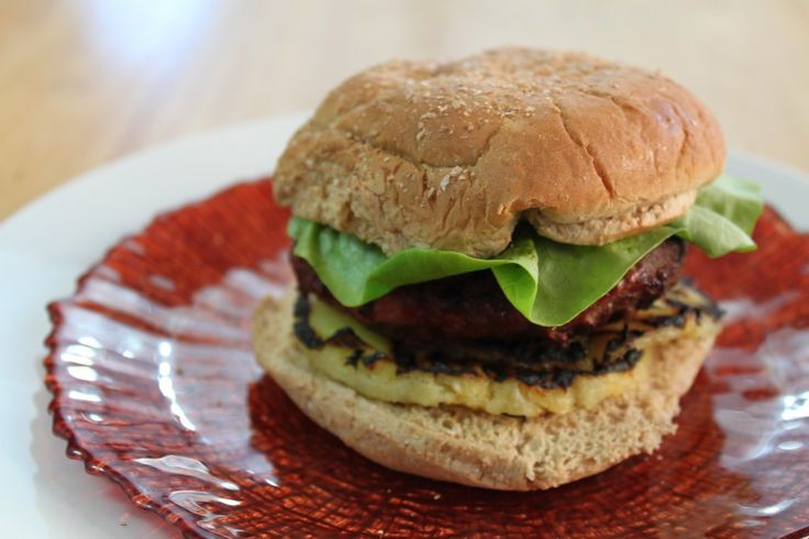 grilled pineapple turkey burgers | I Heart Burgers | Pinterest