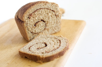 Whole wheat cinnamon bread? Tim distracted me so the first batch was a ...