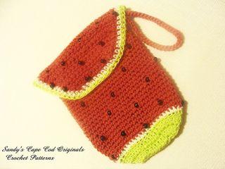 Crochet Wristlet Purse Pattern : CROCHET WRISTLET PURSE PATTERN CROCHET PATTERNS