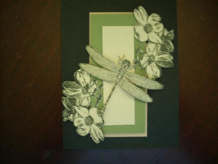 Handmade card, louisebdesigns