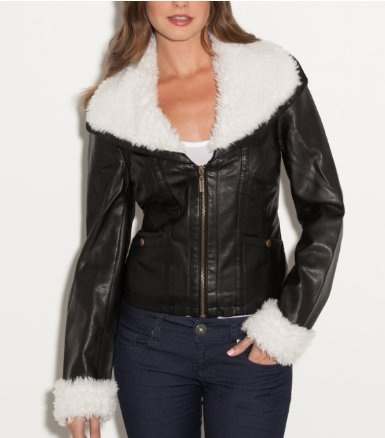 cheap clothing stores big chill vintage faux leather jacket