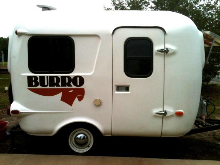 Luxury Burro Trailer  Fiberglass RV  Pinterest
