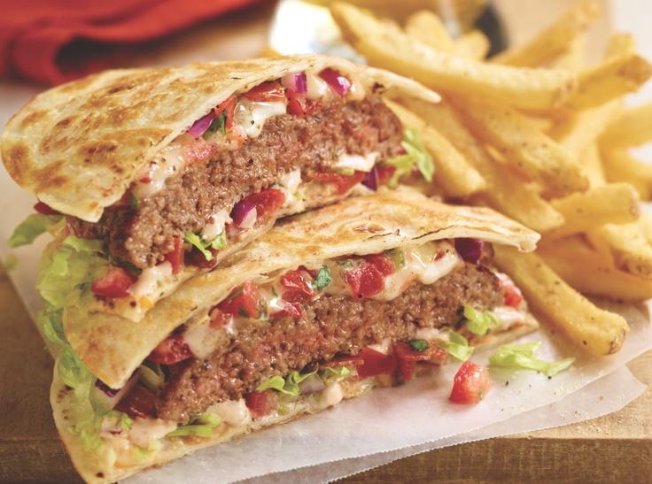 Quesadilla Burger....so good! | Food & Drink | Pinterest