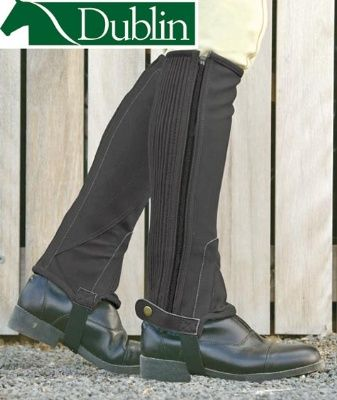 Dublin Easy Care Synthetic Half Chaps - THEY COME IN PINK!!!!!!