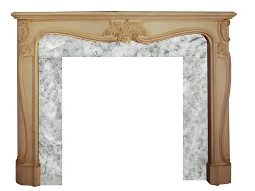 French Country Fireplace Mantel Design And Storage Pinterest