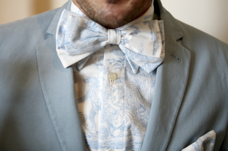 Love this matching shirt bow tie blue themed weddings for Matching ties with shirts