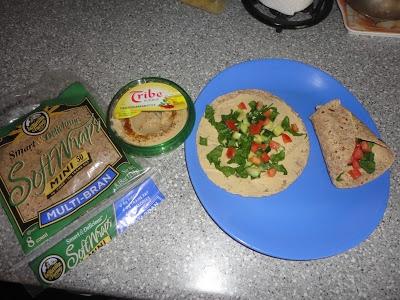 Mediterranean Vegetable Grilled Wrap Recipe — Dishmaps