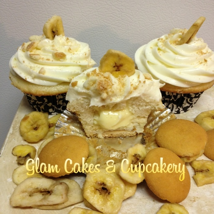 the bottom with banana cream cheese filling topped with banana cream ...