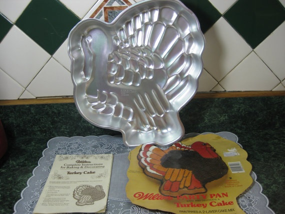 Turkey Cake Pan Wilton