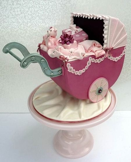 gorgeous shower cake featured on