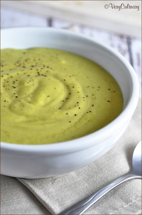 Creamy Asparagus Soup | Recipes: Soup's On | Pinterest