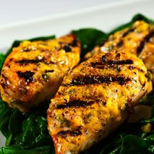 Mango Cilantro Chicken....absolutely the BEST chicken for summer time ...