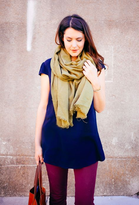plum / navy / mustard or olive // member Kendi of Kendi Everyday