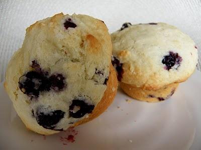Big Beautiful Blueberry Muffins | food | Pinterest