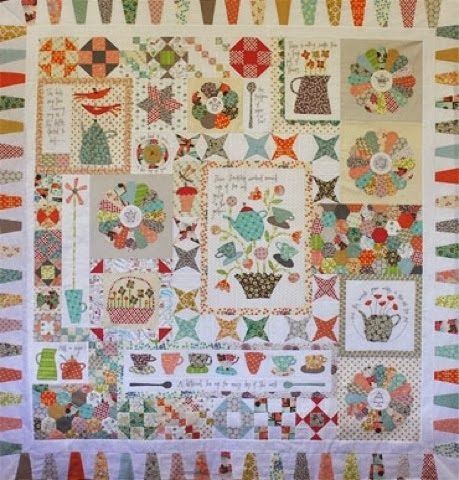 "Quilt it and Dotty www.quilt-it.nl: Nieuwe Bom! "" Gossip in the garden'"