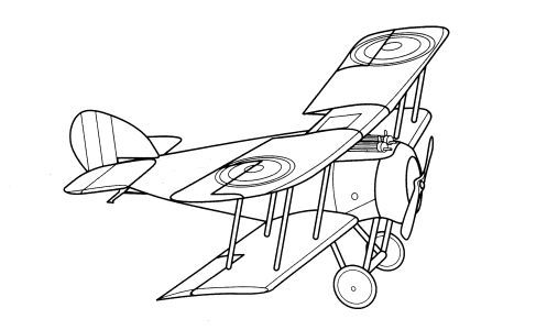 Vintage Airplane Coloring Page Free Airplane Coloring...