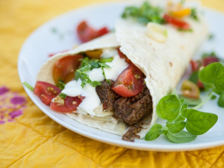 Summer Tri-Tip Burrito | FreshHerbs.com