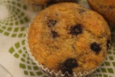 Blueberry Cornmeal Muffins - Polish Housewife Terrific texture and ...