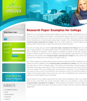 Research Papers Custom