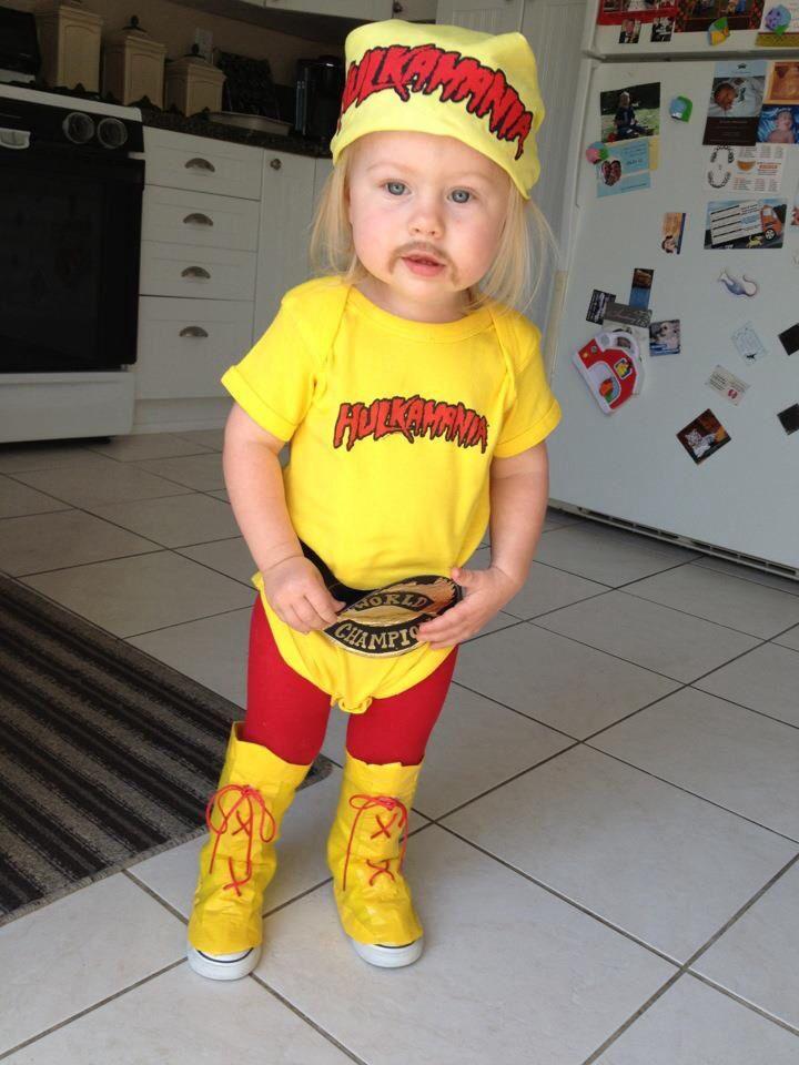 adult hulk hogan wrestling outfit costume