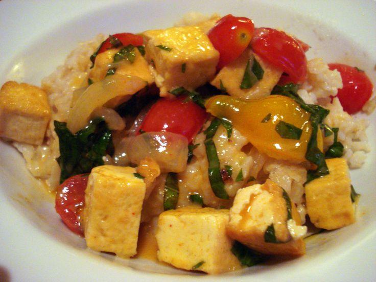 Tofu curry | Food ideas | Pinterest